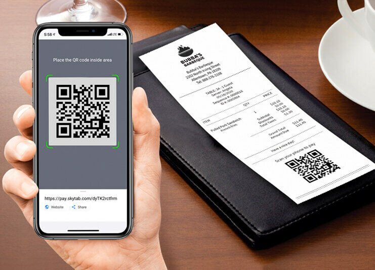 Simple QR Code Payment