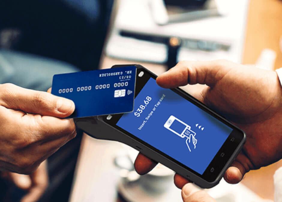 Mobile POS Terminal Interaction - No Contact Experience